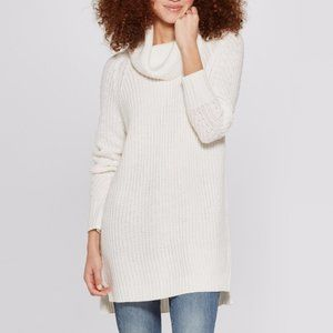 Women's Cozy Cowl Neck Pullover Chunky Sweater